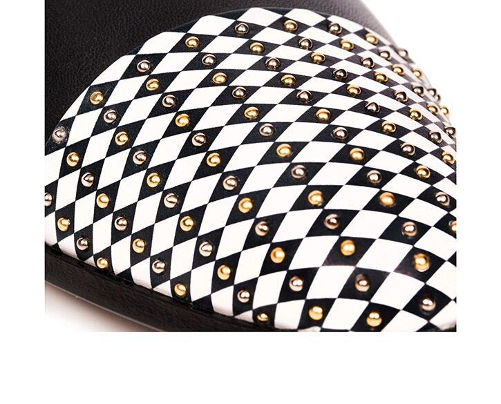Mastra Ma' - oxford shoe women black - Gaia black and white point
