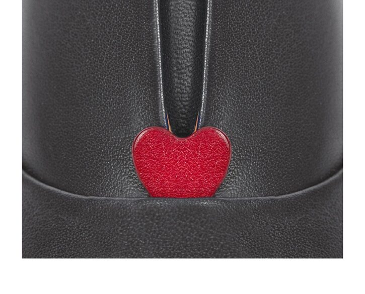 Mastra Ma' - oxford shoe women grey - Gaia red heart