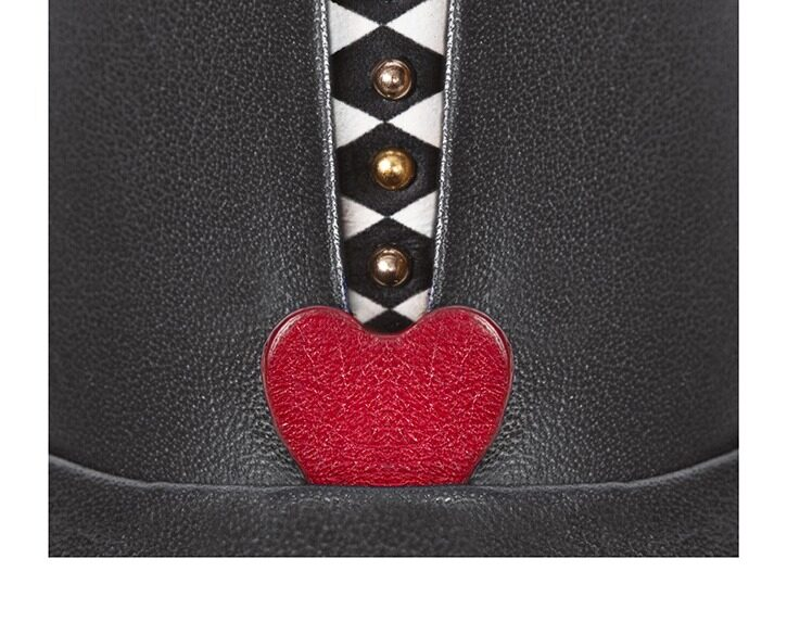 Mastra Ma' - Rosalba oxford shoe in grey with red heart, memory foam and anti-slip sole