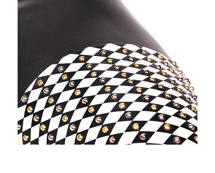 Mastra Ma' - oxford shoe women grey - Gaia black and white point