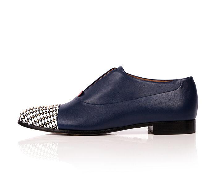 Mastra Ma' - oxford shoe women blue - Gaia