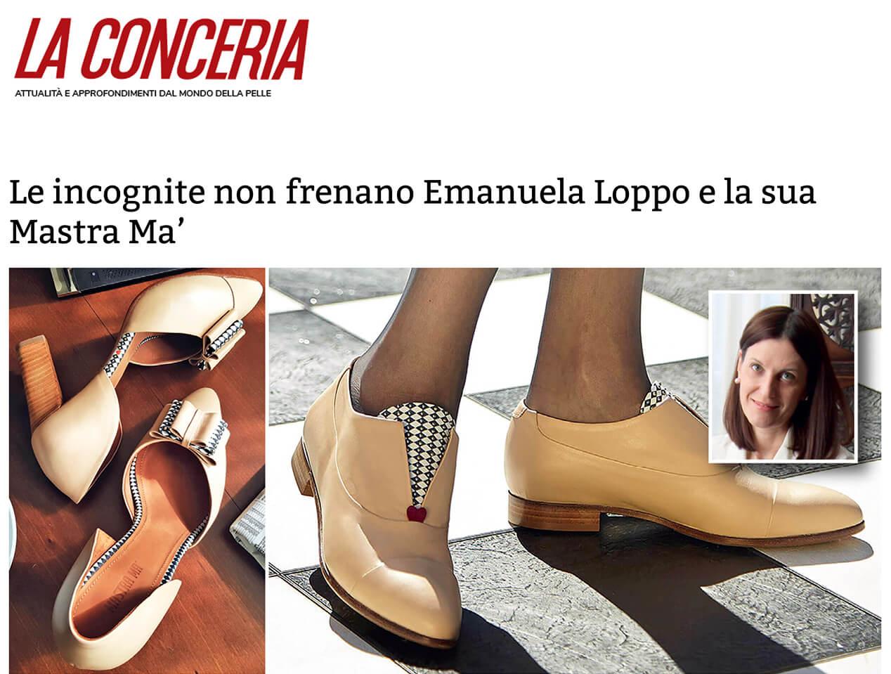 La Conceria interviews Mastra Ma'