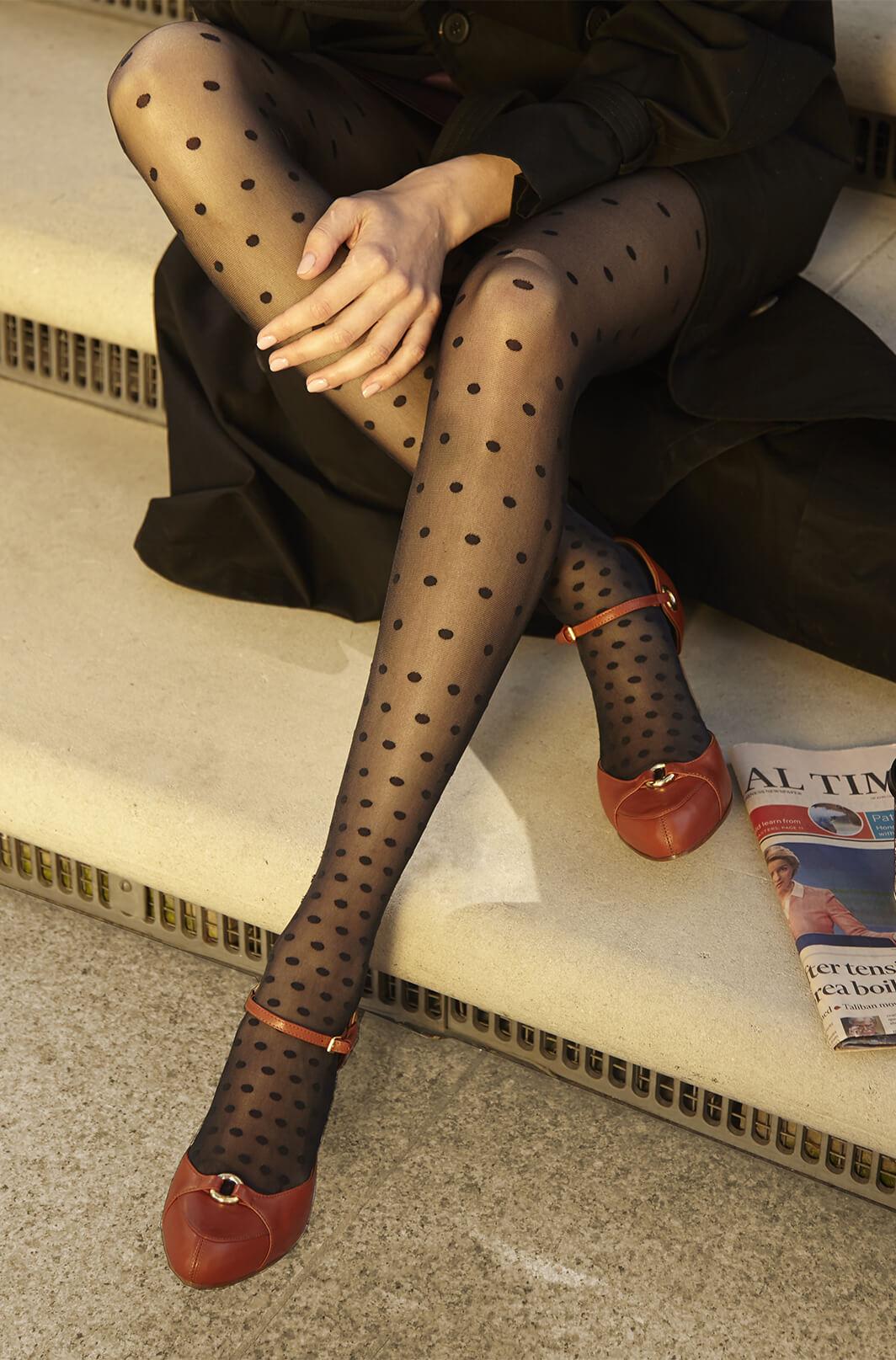 Burnt orange ankle strap high heel with golden studs - Mastra Ma'